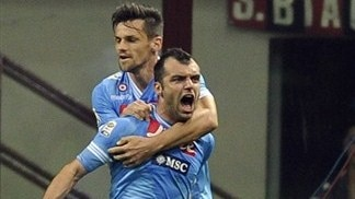 Napoli meet their match in Milan, Inter lose
