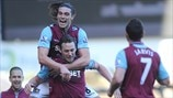 Kevin Nolan & Andy Carroll (West Ham United FC)