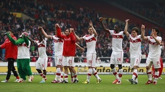 Stuttgart dent Freiburg's top four ambitions