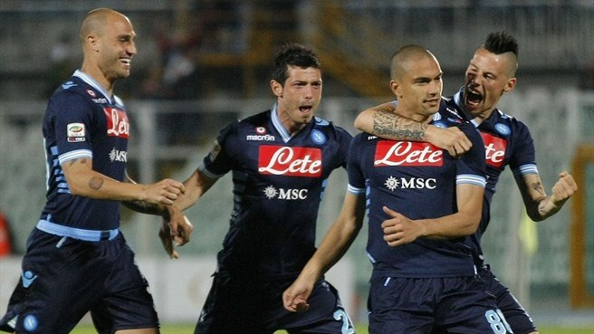 Second place almost secure for Napoli