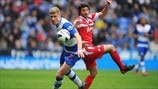 Esteban Granero (Queens Park Rangers FC) & Pavel Pogrebnyak (Reading FC)