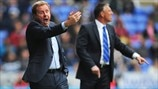 Harry Redknapp (Queens Park Rangers FC) & Nigel Adkins (Reading FC)