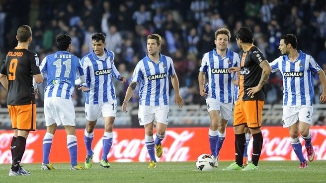 Sociedad tighten grip on fourth with Valencia win