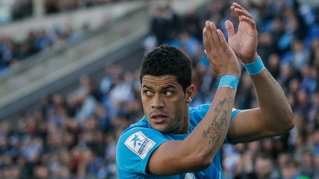 Porto reunion for Zenit's Hulk in Group G