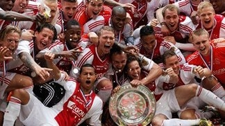 Ajax dismantle Willem II to seal 32nd Dutch title