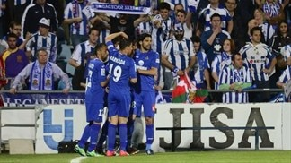 Getafe come from behind to beat Sociedad