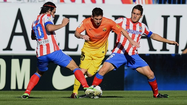 Atlético and Barcelona set for capital showdown