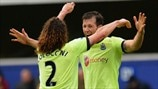Mike Williamson & Fabrizio Coloccini (Newcastle United FC)