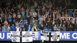 Newcastle United FC fans celebrate