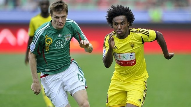 Chelsea bring in Brazilian Willian from Anji