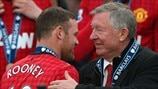Wayne Rooney & Sir Alex Ferguson (Manchester United FC)