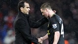 James McCarthy & Roberto Martinez (Wigan Athletic FC)