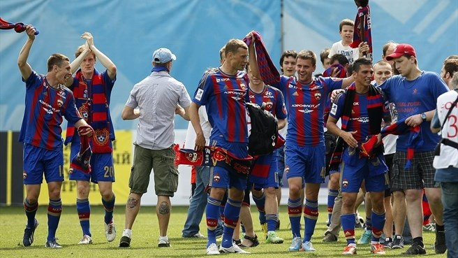 CSKA secure Russian title for fourth time