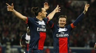 PSG win as Beckham bids farewell