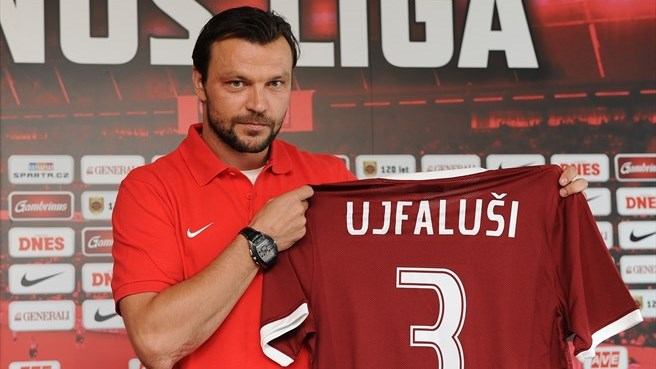 Ambitious Sparta welcome Ujfaluši home