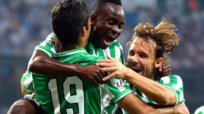 Cedric salvages Betis point at Rijeka