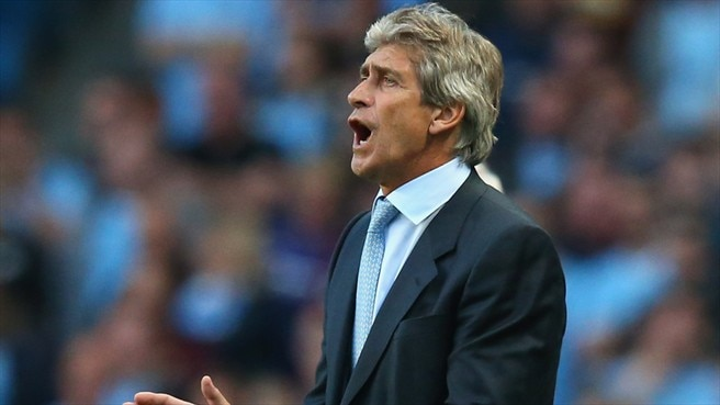 Press conference: Manuel Pellegrini (Man. CIty)