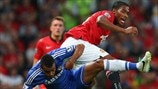 Antonio Valencia (Manchester United FC) & Ashley Cole (Chelsea FC)