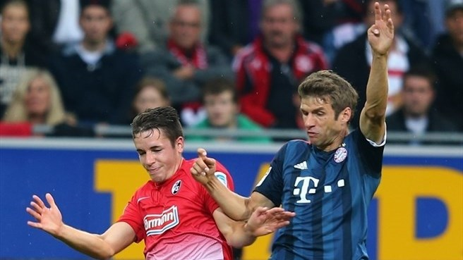 Bayern's perfect start ends in Freiburg