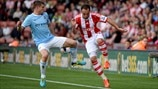 James Milner (Manchester City FC) & Matthew Etherington (Stoke City FC)