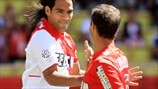 Falcao & Ricardo Carvalho (AS Monaco FC)