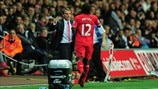 Brendan Rodgers & Victor Moses (Liverpool FC)