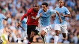Ashley Young (Manchester United FC) & Jesús Navas (Manchester City FC)