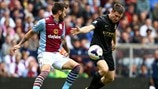 James Milner (Manchester City FC) & Antonio Luna (Aston Villa FC)