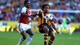 Tom Huddlestone (Hull City AFC) & Modibo Maïga (West Ham United FC)
