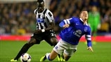 Ross Barkley (Everton FC) & Cheick Tioté (Newcastle United FC)
