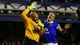 Phil Jagielka & Tim Howard (Everton FC)