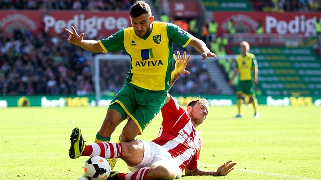 Robert Snodgrass (Stoke City FC) & Robert Snodgrass ( Norwich City FC)