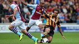 Fabian Delph (Aston Villa FC) & Tom Huddlestone (Hull City AFC)