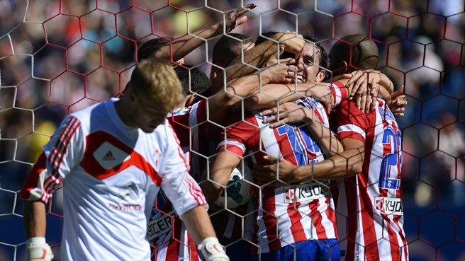 Costa comes good in eighth Atlético triumph