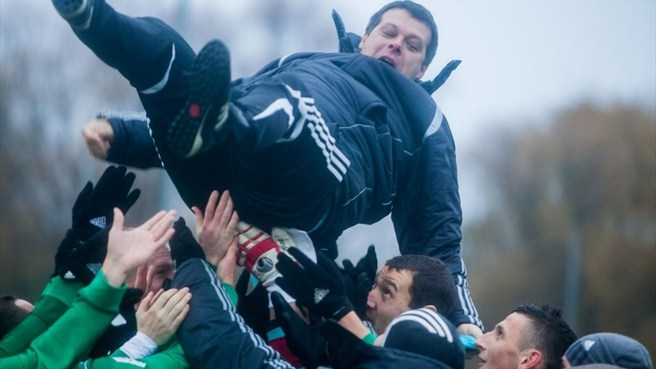 Youthful Levadia take Estonian title