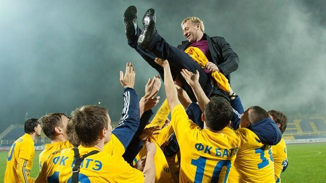 BATE clinch eighth successive Belarus title