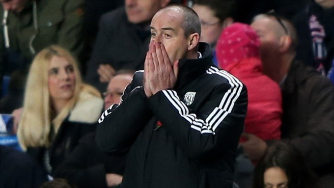 West Brom relieve manager Clarke of duties