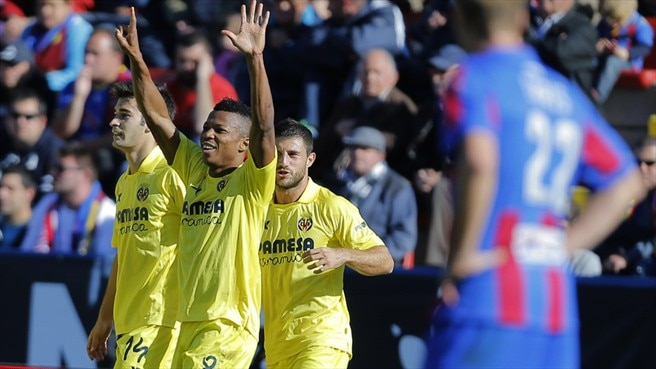 Villarreal sink Levante, Sevilla take derby spoils