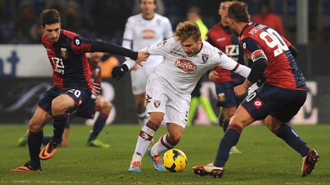 Genoa hold Torino, Parma and Bologna draw