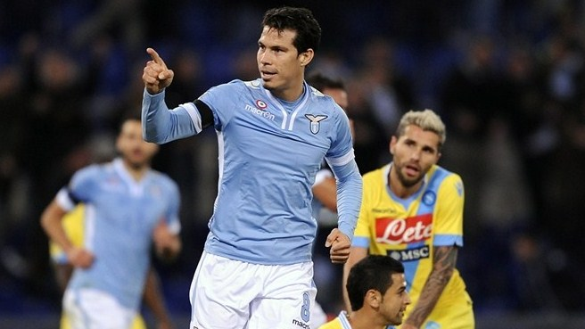 Inter bring Hernanes on board from Lazio