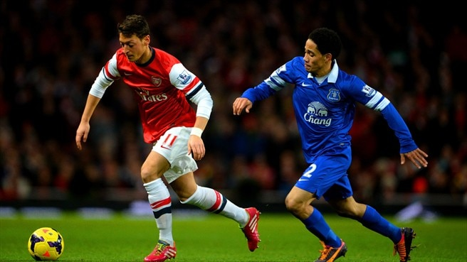 Arsenal held by Everton, Fulham win
