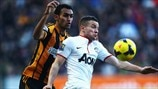 Ahmed Al-Muhammadi (Hull City AFC) & Tom Cleverley (Manchester United FC)