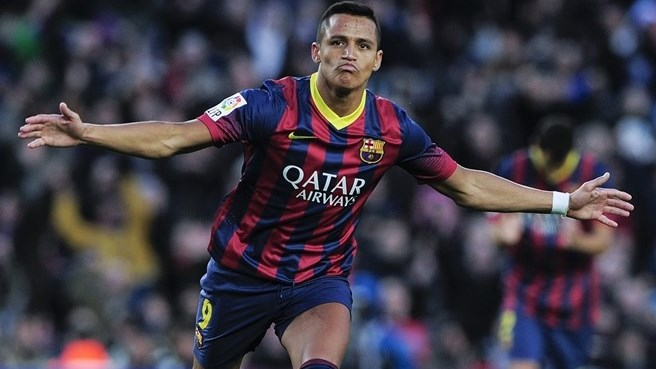 Alexis inspires Barcelona back to top