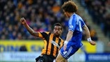 Tom Huddlestone (Hull City AFC) & David Luiz (Chelsea FC)