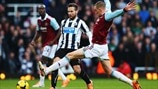 Yohan Cabaye (Newcastle United FC) & Jack Collison (West Ham United FC)