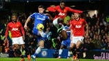Gary Cahill (Chelsea FC) & Danny Welbeck (Manchester United FC)