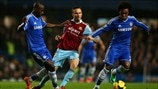 Matthew Taylor (West Ham United FC), Ramires & Willian (Chelsea FC)