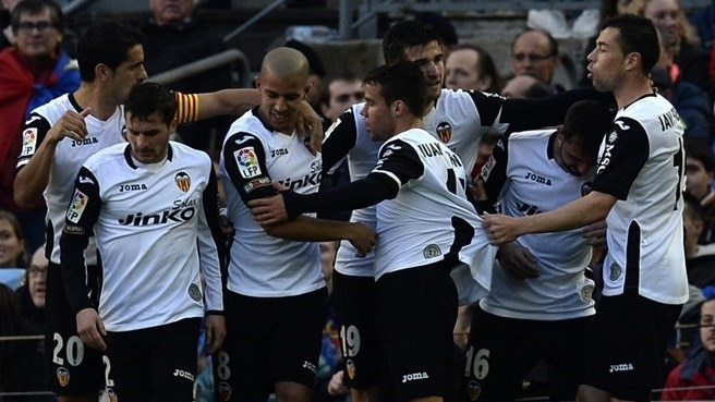 Barcelona beaten at home by Valencia