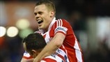 Charlie Adam & Ryan Shawcross (Stoke City FC)