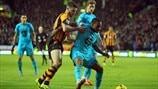 Shane Long (Hull City AFC) & Danny Rose (Tottenham Hotspur FC)
